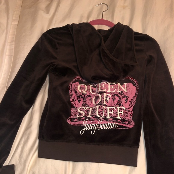 Juicy Couture Jackets & Blazers - Brown velvet Juicy Couture jacket